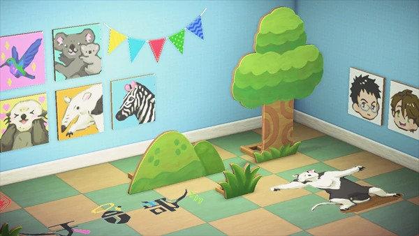 「天地创造设计部」公布以本作为主题的动森岛屿